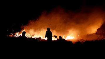 Fire service called out to nine 'serious' gorse fire