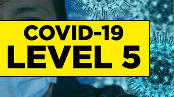 What are the changes to Covid-19 Level 5 restrictions?