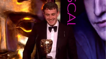 """Paul Mescal's family in Kilcock is """"absolutely delighted"""" at Bafta win"""
