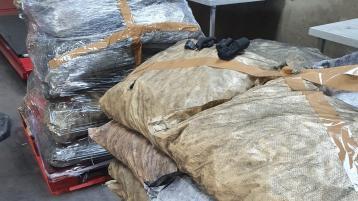 Gardai seize cocaine worth €35million hidden in bags of coal