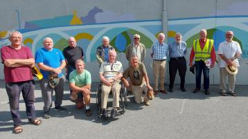 Local artist and Thomastown Men's Shed collaborate on public art project