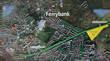 Preferred site for new South Kilkenny greenway carpark chosen