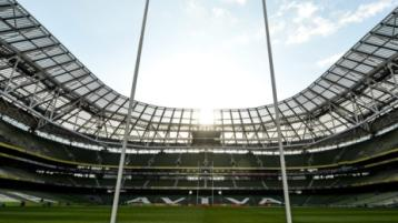 Rugby fans set to return next month at the Aviva Stadium
