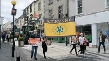 IFA protest through Kilkenny City highlights threats to farming