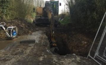 Kilkenny Castlecomer work begins