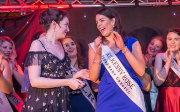 Clodagh is crowned this year's Kilkenny Rose