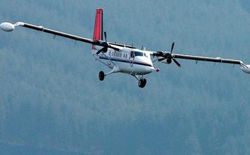 Warning that horses could be startled by low-flying plane carrying out survey