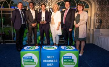 John Duggan goes forward to national finals of Ireland's best young entrepreneur
