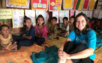 Karen Reidy UNICEF Bangladesh