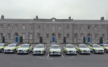 WATCH: The Gardaí take delivery of a fleet of 35 brand new squad cars