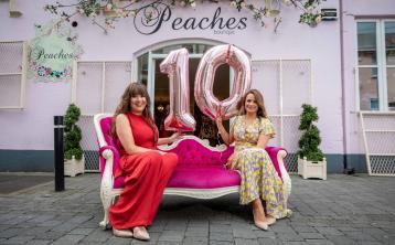 Peaches celebrates 10th anniversary on Kilkenny's Kieran Street