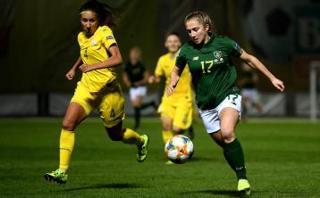 16 year old Ellen Molloy debuts as Republic of Ireland fall to Ukraine in European Championship Qualifier