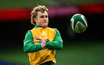 Ireland side named for Six Nations trip to Rome