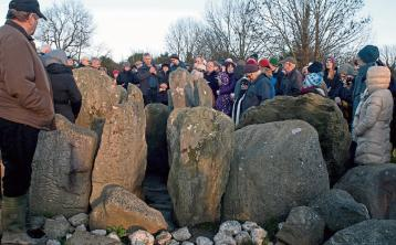 Join witches, druids and other mortals at Knockroe passage tomb for winter solstice in Kilkenny