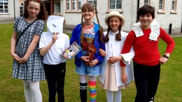 GALLERY: St John's Junior and Senior School Kilkenny celebrate Literacy Week!