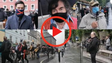 WATCH: Musicians Protest in Kilkenny City - Local Reaction