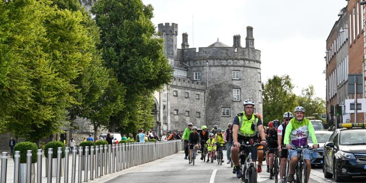Slow roll through Kilkenny during Bike Week is a sunny success