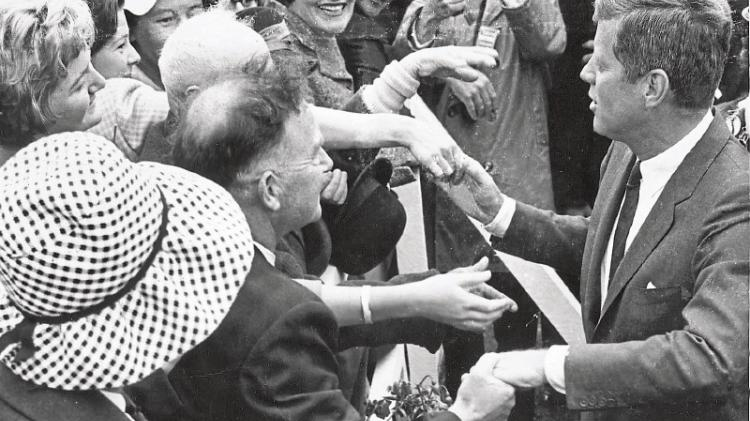 Never-before-seen footage of JFK's visit to Ireland to be donated to New Ross Library