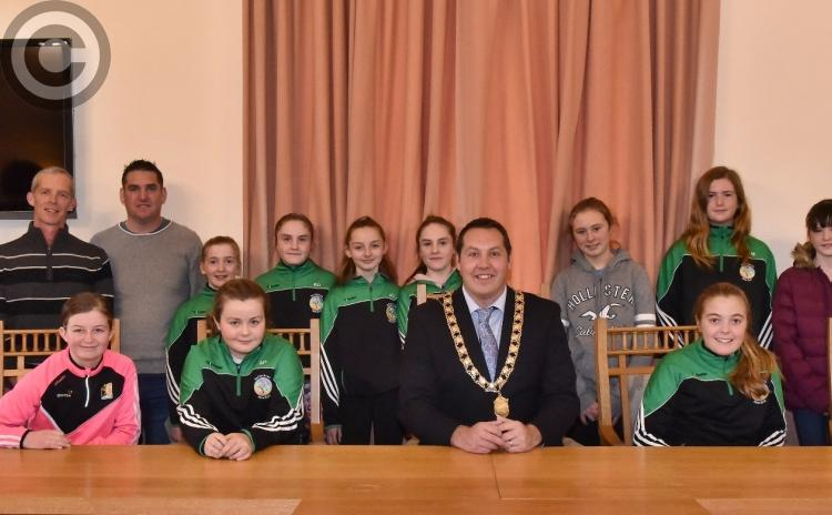Picture Gallery: Mayor hosts reception in Kilkenny for St Fiacre's Camogie team