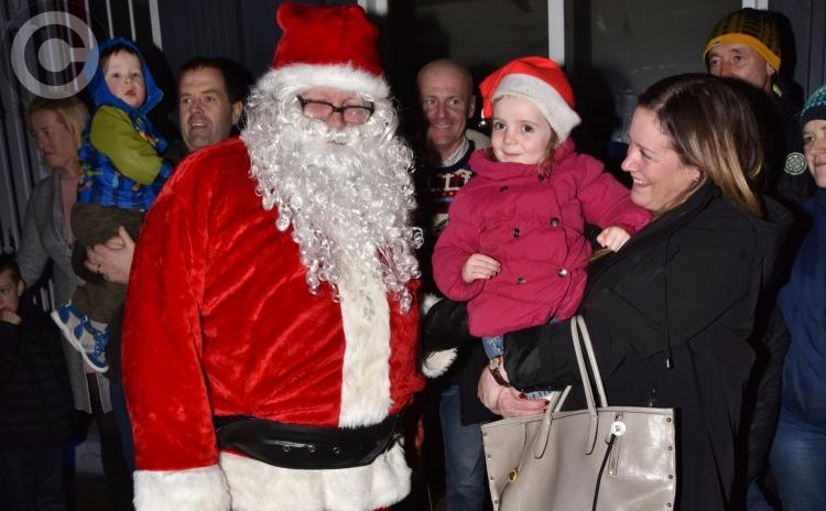Santa arrives in Thomastown!