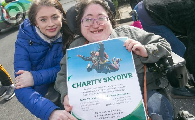 Brave Kilkenny fundraisers to skydive for Wheelchair Association