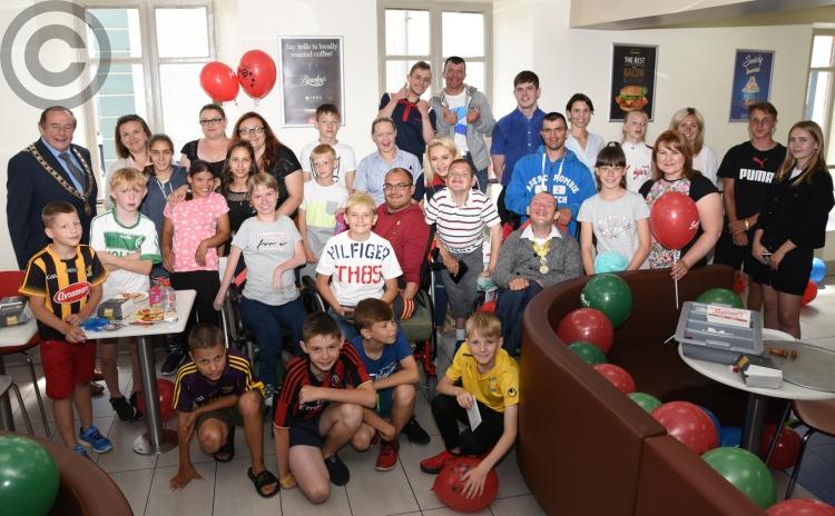 Gallery: Super party as Chernobyl friends return to Kilkenny