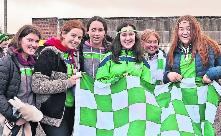Gallery: Ballyhale Shamrocks Supporters At Newry