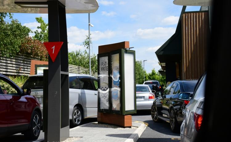 Queues! Kilkenny McDonald's Drive-Thru gets  a great reopening welcome!