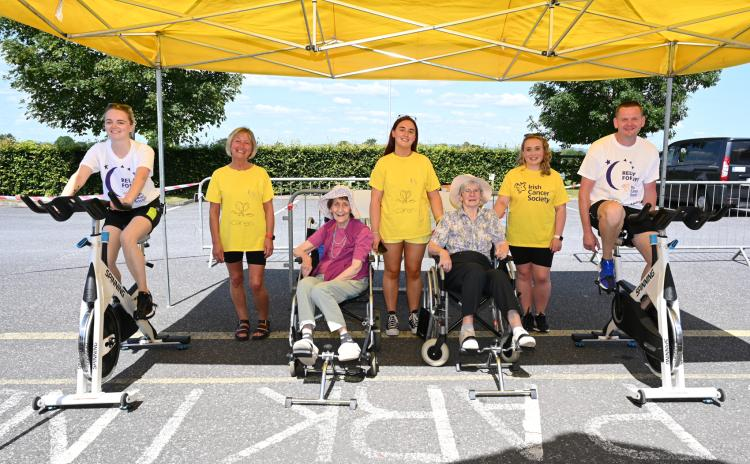 GALLERY: Team Tinnypark Kilkenny complete 24hr virtual cycle for Relay for Life