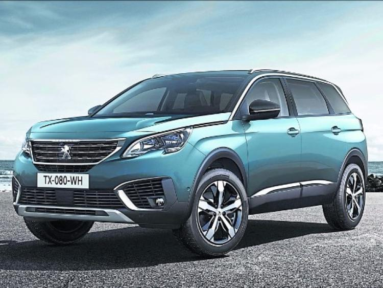 peugeot the 5008 suv offers space galore kilkenny people. Black Bedroom Furniture Sets. Home Design Ideas