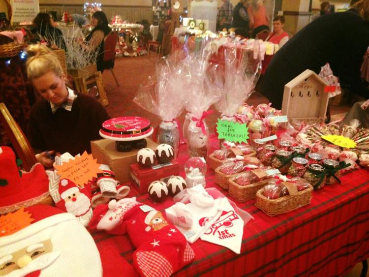 a sneak peak at what might be on offer at the durrow christmas crafts fair