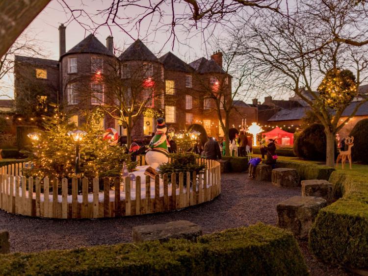 butler house gardens come alive at christmas