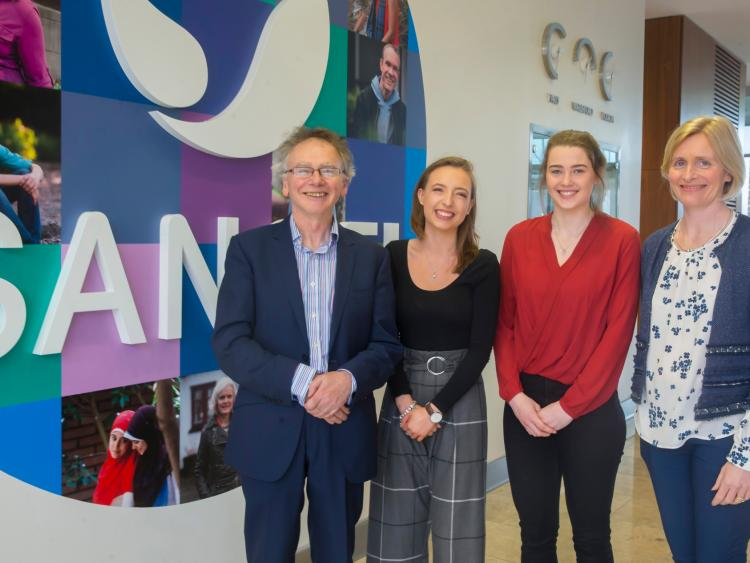 Kilkenny students at WIT win Sanofi Future Female Leaders
