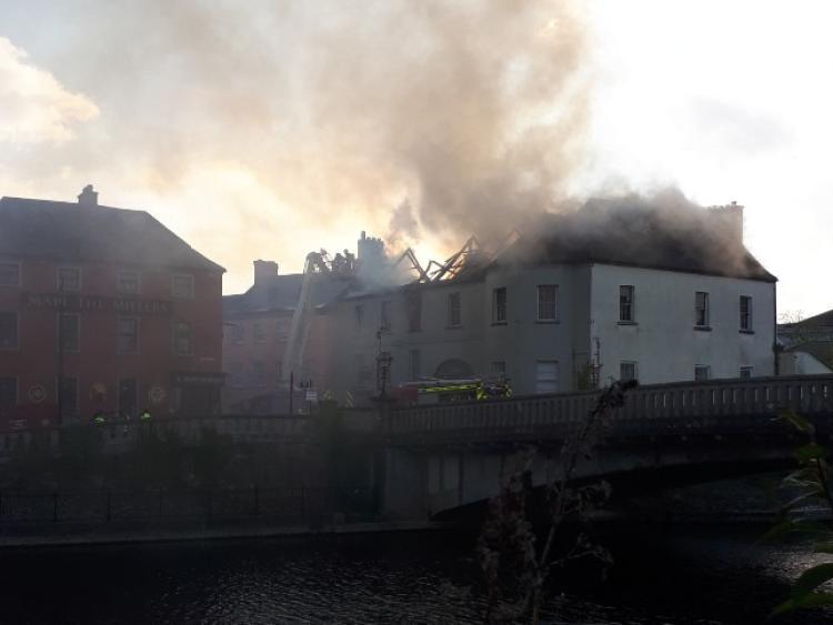 Majot fire in centre of Kilkenny city