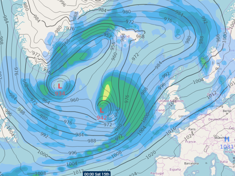 Storm Inès and Dennis: Further storms expected from Thursday onwards