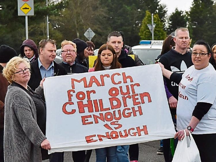 'This is only the start' – Kilkenny protesters call for better health services for children