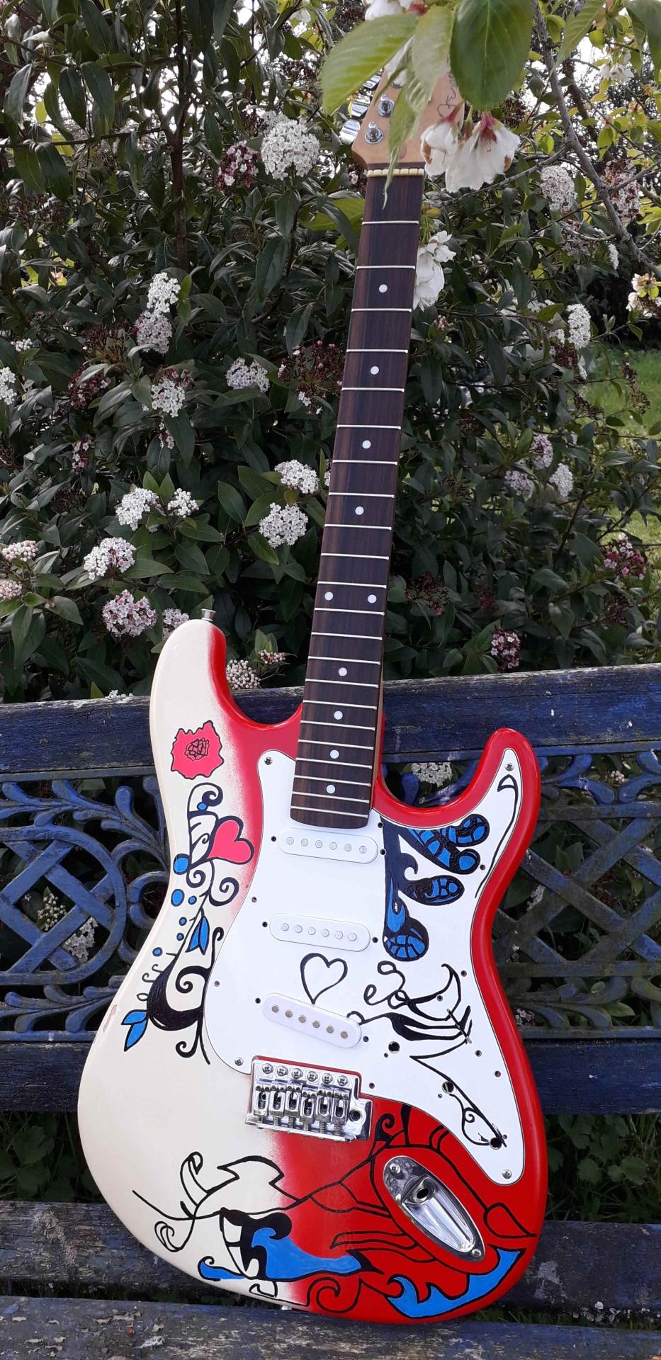 Niall Campden guitar